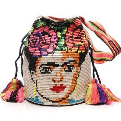 Wayuu Limited edition Frida Kahlo Mochila