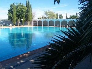Swimming pool on the park - Spa at lazy days - Residential Style Mobile Home Park - Mobile homes / Static Caravans / Leisure Park Homes for sale in Spain, Costa del Sol, Malaga, Antequera