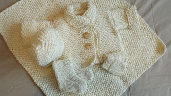 3 mois- 5 pièces au poing de riz laine double sur Etsy.com/ca/fr/shop/TricotsDiahn