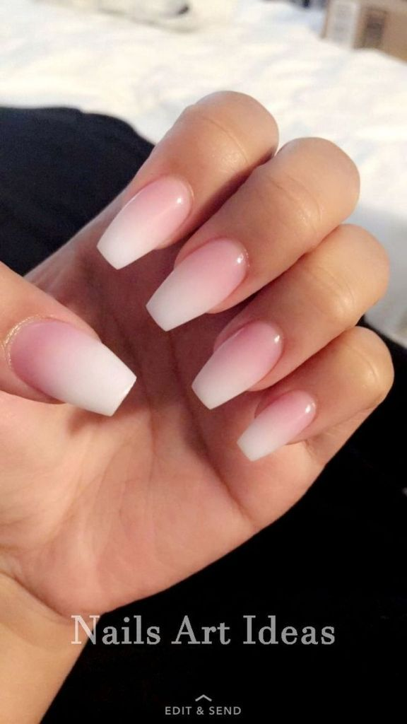 44+ Reason you didn't get Nail ideas acrylic coffin short ombre – restbytes.com