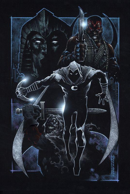 Moon Knight by JK Snyder III