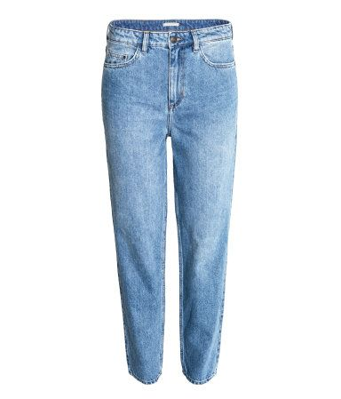 Loose Fit Regular Jeans   Blau   Damen   H&M DE