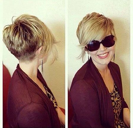 25  New Short Hair Ideas with Long Bangs | Short Hairstyles