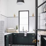 A Classic White Subway Tile Bathroom Designed By Our Teenage Son!