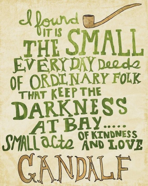 Gandalf   Fantasy Fiction   Lord of the Rings   Quotes