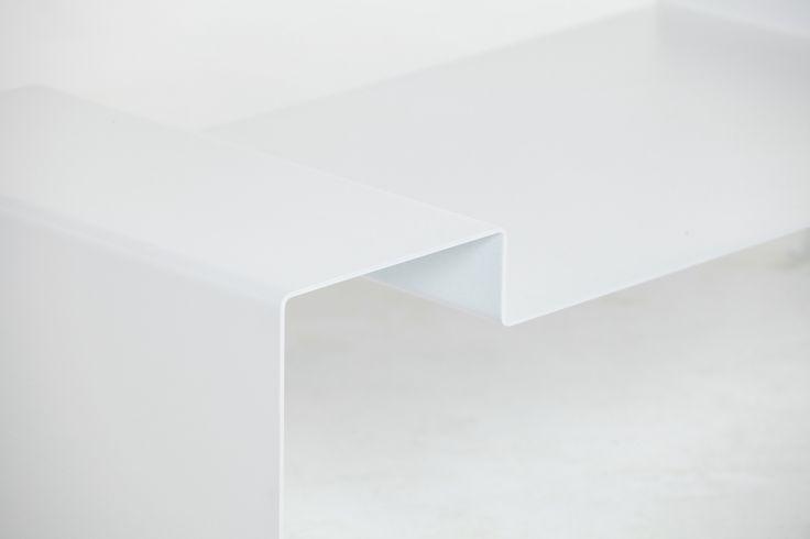 Detalle mesa Shinkal Diseño chapa plegada https://www.facebook.com/axvico by Sebastian Vedoya