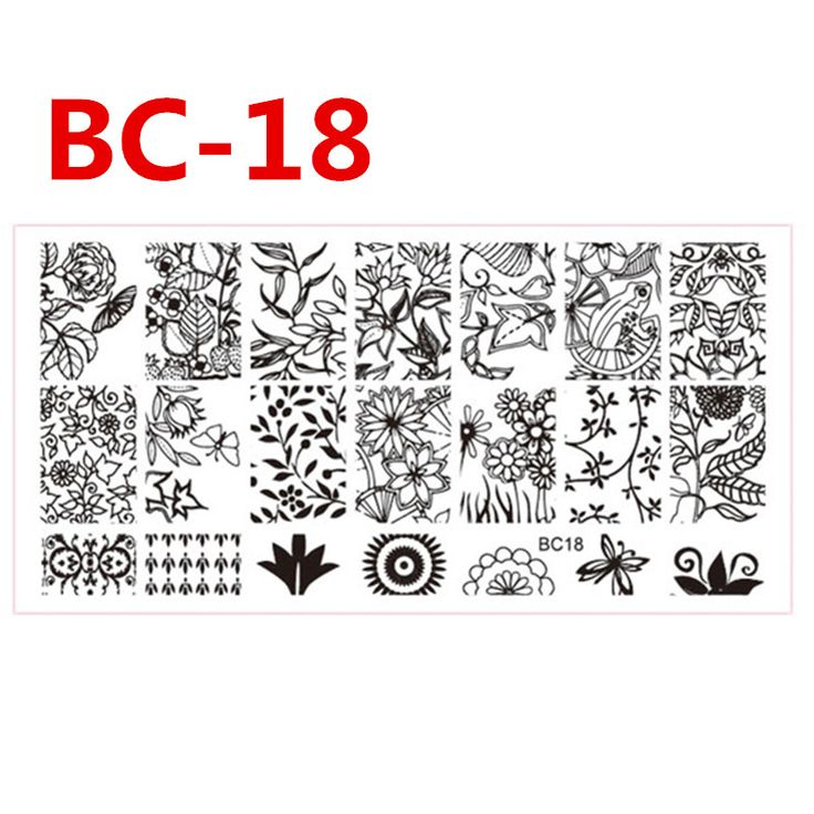 Cheap nail art plate, Buy Quality stamping stamp directly from China nail art stamping stamp Suppliers: 1pc Nail Art Plate 12x6cm Beauty Flower DIY Nail Accessory Stainless Steel Nail Art Stamping Stamp Polish Manicure Tips SABC-18