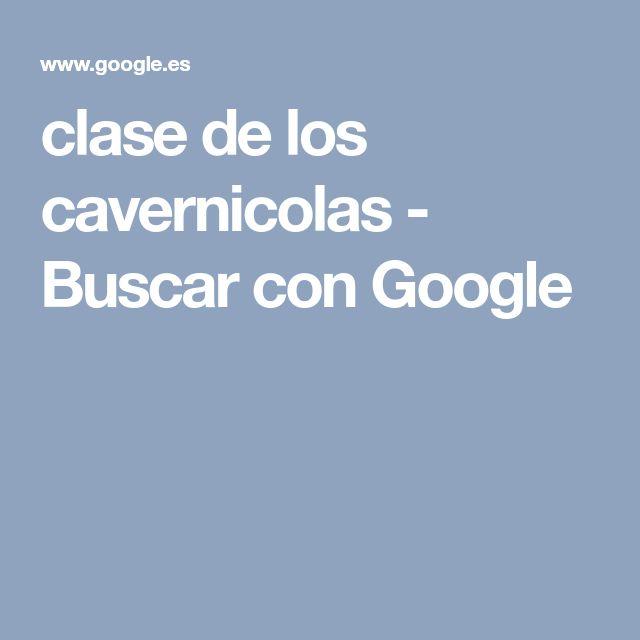clase de los cavernicolas - Buscar con Google