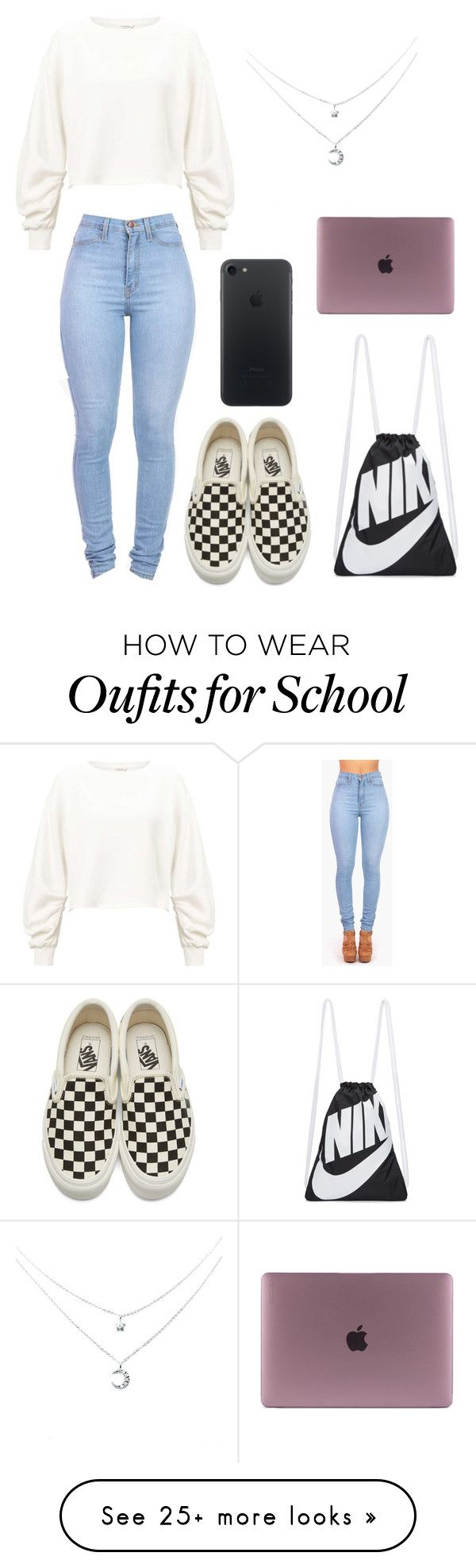 """I am seriously about to drop out of school ☹️"" by dogs109 on Polyvore featuring Miss Selfridge, Vibrant, Vans and NIKE"