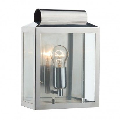 Notary Wall Light – Stainless Steel