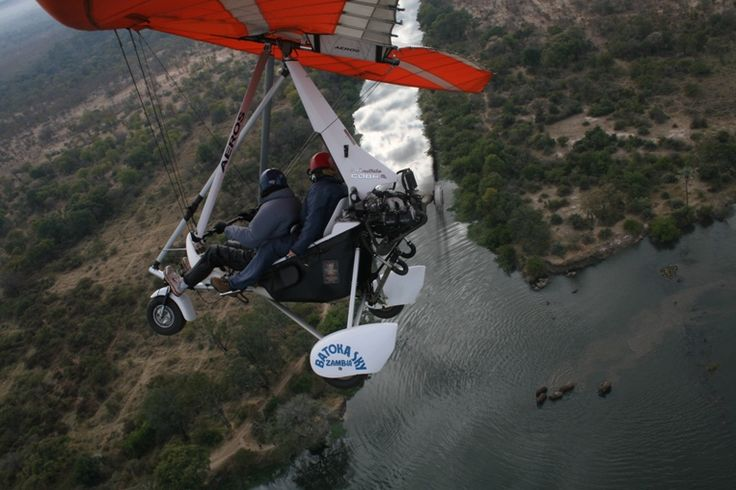 Microlighting - Best Thing to do at Victoria Falls in Zambia/Zimbabwe