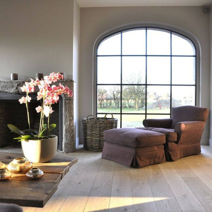 Arched Window Living Room Pinterest