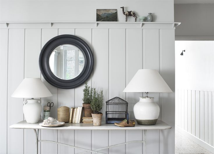 Neptune Buckingham 74x74cm Mirror.  Available in many colours (painted to order) also 100cm version.