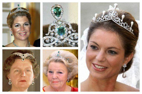 The Dutch Emerald Parure Tiara