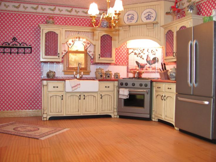 Mini Kitchen Room Box: 17 Best Images About Dollhouses