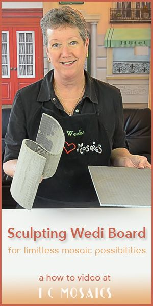 Sculpting With Wedi Board - a new frontier with unlimited possibilities! CLICK here to watch: