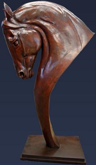 More equine art & inspirations: www.StajniaSztuki.pl  Bronze Statue