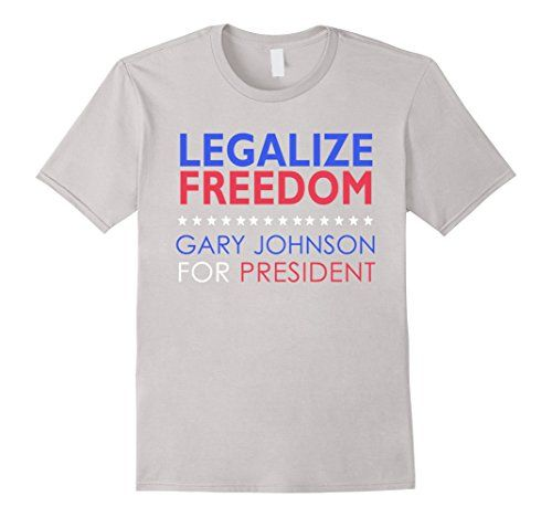 Legalize Freedom T Shirt | Gary Johnson 2016 Vote 3rd Party:   Who is Gary Johnson? Gary Johnson is a 2 term governor of New Mexico, a successful businessman and an avid adventurer and athlete. He is socially liberal, fiscally conservative. The best of both worlds.  You deserve to be free! Show the Democrat and Republican parties that you refuse to vote for the lesser of 2 evils. Make America sane again. Vote Libertarian! Vote 3rd party! Vote Gary Johnson 2016!