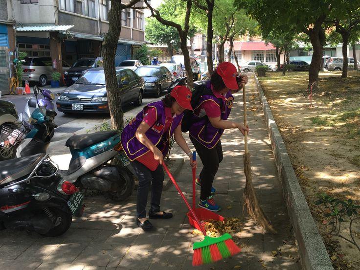 Chernuei #LionsClub (MD300 Taiwan) cleaned up a community park