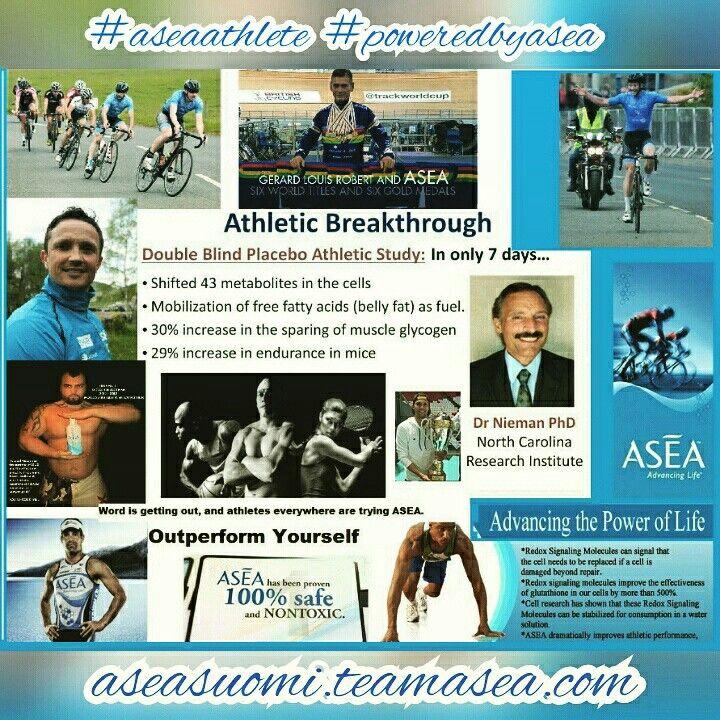 Tehosta urheilusuorituksiasi ASEAlla!