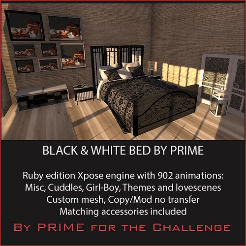 B Bedroom Ruby by PRIME for The Challenge
