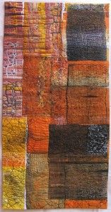 Scorched Earth quilt - Linda Stokes, Australia.