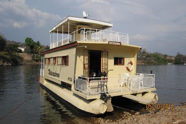 Unusual Houseboats | houseboat pontoon houseboat for sale matusadona this houseboat ...