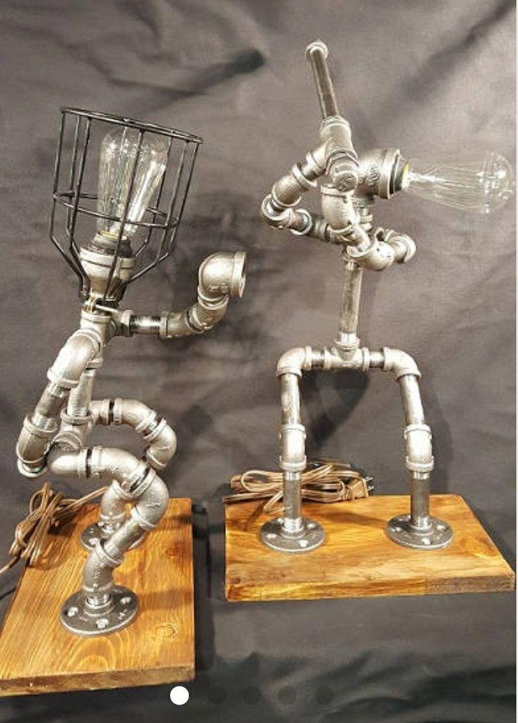 welded metal art