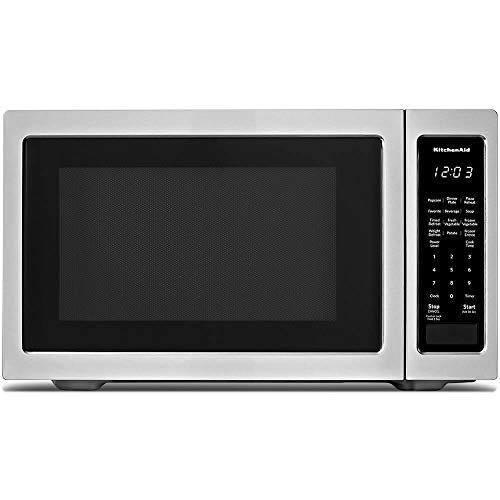 Kitchenaid Kmcs1016gss 1 6 Cu Ft Countertop Microwave In