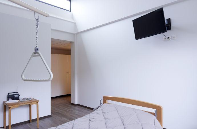 Melteca Clipwall Soft White  at Public Psychiatric Hospital in Geel, Belgium