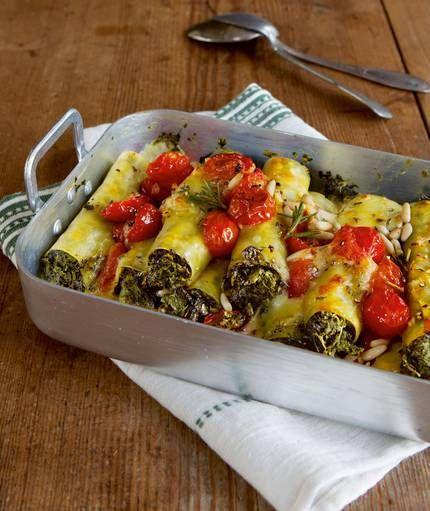 Grünkohl-Cannelloni                                                                                                                                                                                 Mehr