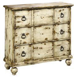 Cellar 3 Drawer Chest in Antique Beige