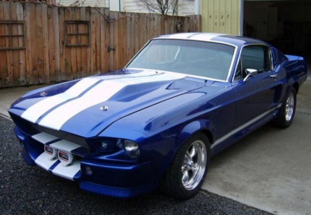 """Ford Mustang Fastback >> Blue 1967 mustang shelby gt500 """"Eleanor"""" 