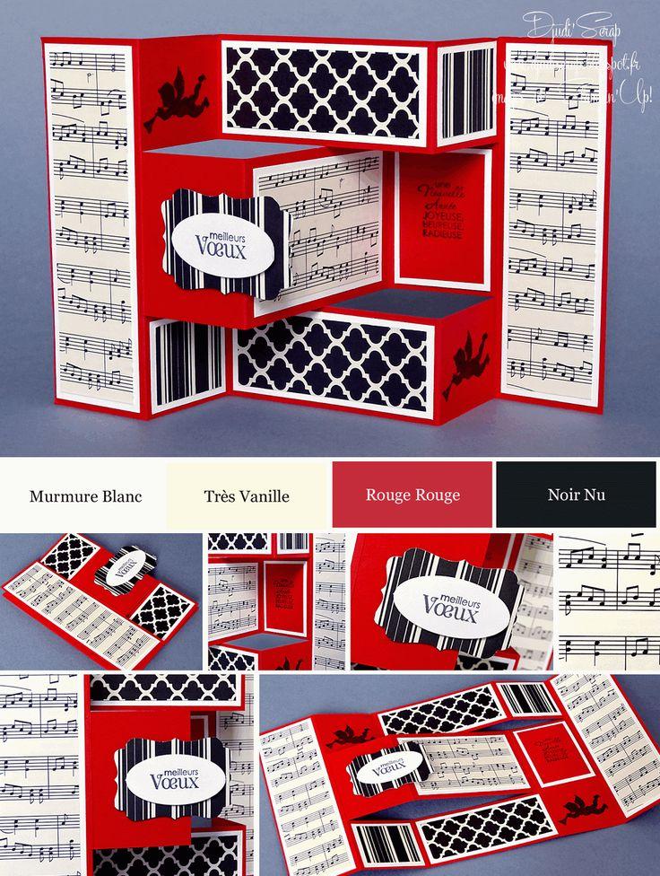 stampin 39 up carte de voeux pinteres. Black Bedroom Furniture Sets. Home Design Ideas