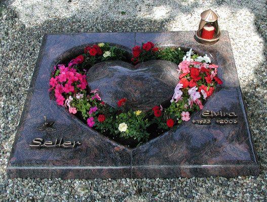 Von uns entworfene Grabanlagen sind in vielen verschiedenen Varianten möglich - sprechen Sie mit uns - wir beraten Sie gerne.