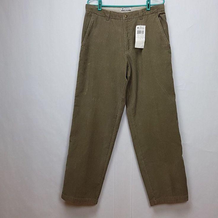 Columbia Sportswear  Men Gray corduroy Pant Size 34. #Columbia #Corduroys