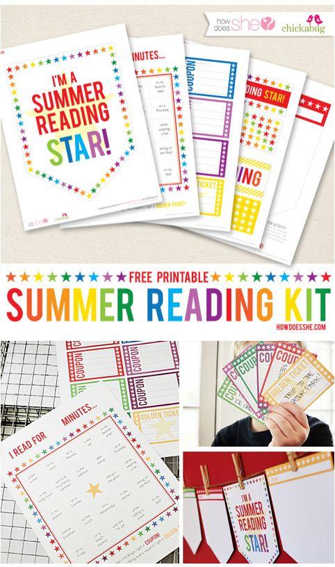 Summer Reading programs - Summer BINGO