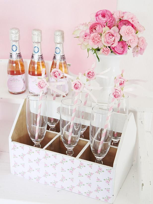 Drink Details: Romantic DIY Wedding Ideas : Decorating : HGTV