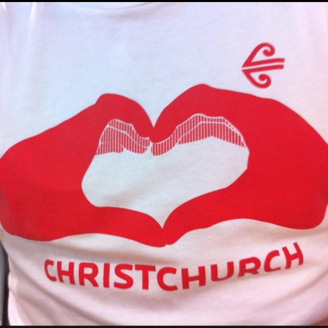 Love Christchurch. #eqnz