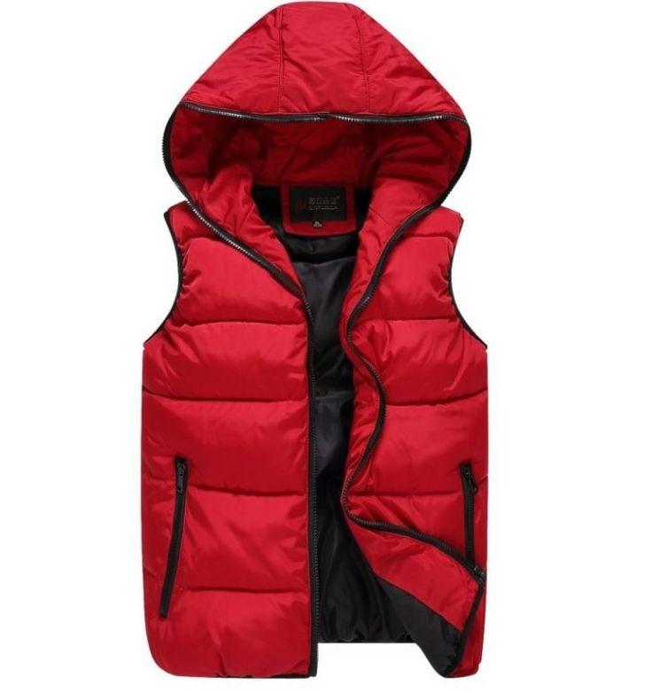 Podzimní zimní teplá pánská vesta na zip červená – Velikost L Na tento produkt se vztahuje nejen zajímavá sleva, ale také poštovné zdarma! Využij této výhodné nabídky a ušetři na poštovném, stejně jako to udělalo …