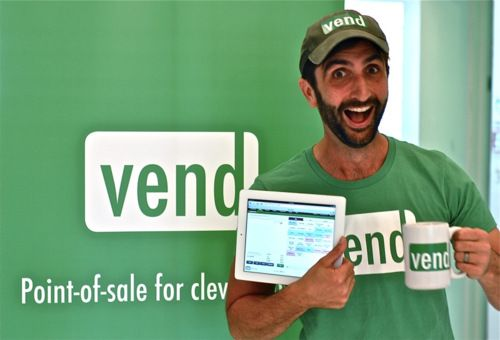 Vend. Only the best point-of-sale option ever. Find them on the cloud. Just look up!