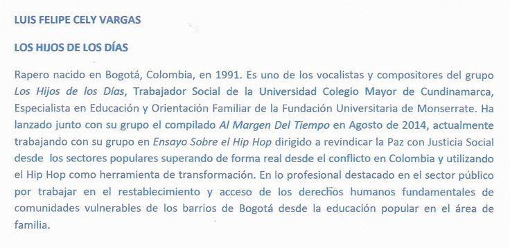 RESEÑA BIOGRÁFICA DE FELIPE CELY PARA DESNUDEZ GRIS ASFALTO.