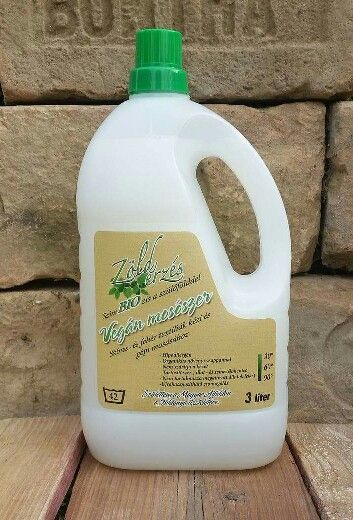 Environmentally friendly #laundry detergent with #organic plant-based soap  This is a modern hypoallergenic laundry soap. Vegan- friendly, does not contain any preservatives, artificial perfumes, nor coloring materials. #https://www.facebook.com/ZoldErzesOkotisztitoszerek/