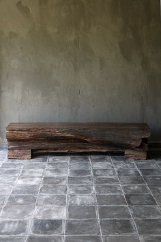 timber bench #wabisabi. donbrady
