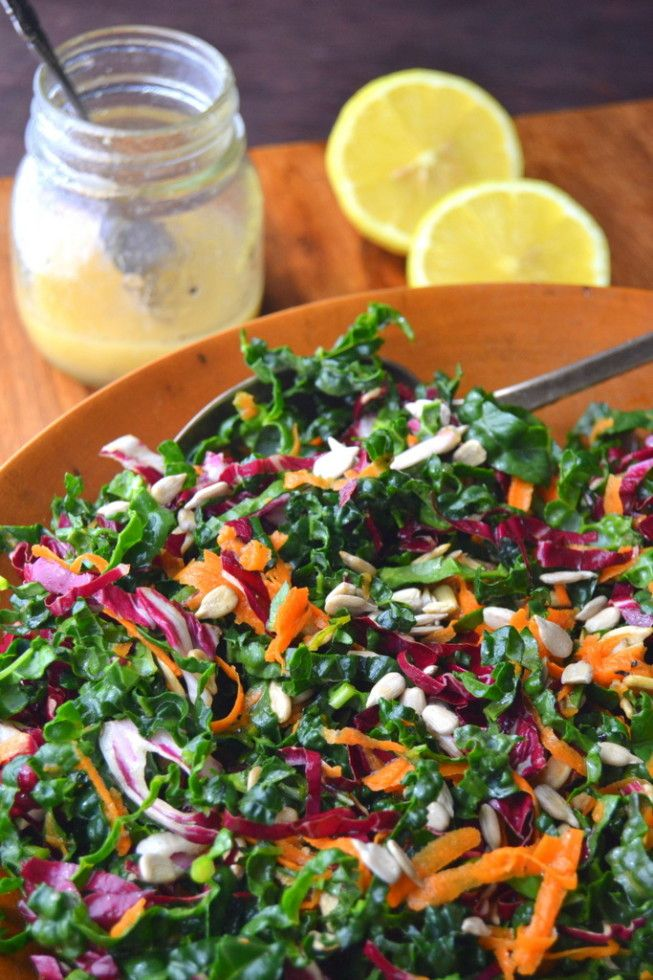 Minimal Monday: Kale Slaw - The View from Great Island