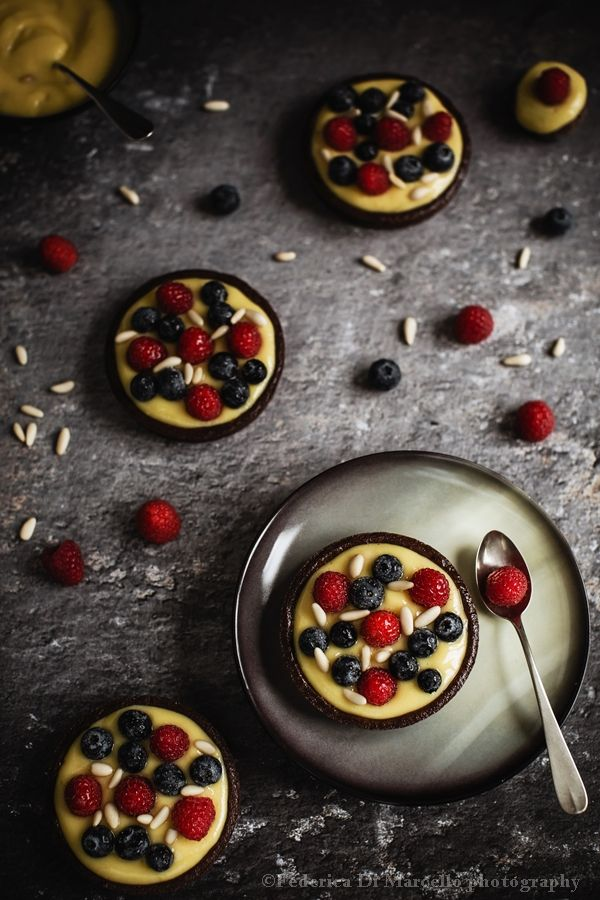 berry and pine nut tartlets 5