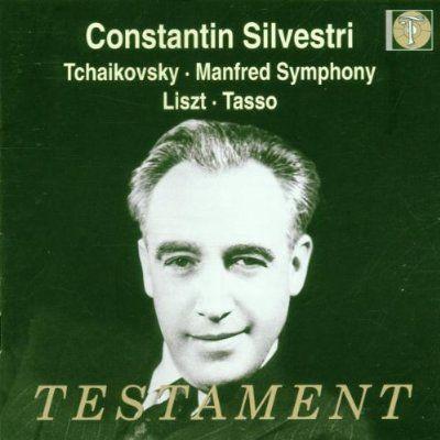 Constantin Silvestri - Tchaikovsky:Manfred Symphony