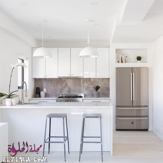 ديكورات مطابخ 2021 صور مطابخ سوف نتعرف سوي ا عبر هذا المقال على ديكورات مطابخ 2021 يعد المطب In 2020 American Kitchen Design American Kitchen Kitchen Projects Design