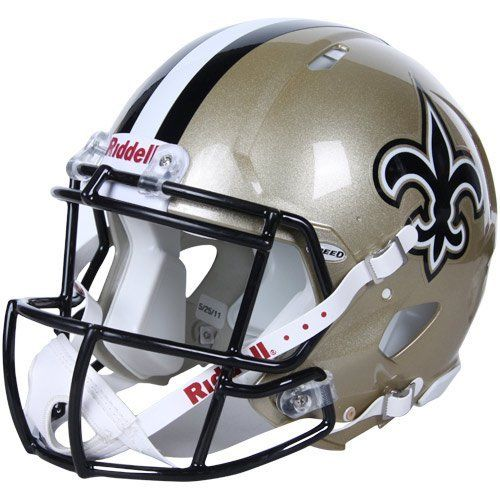 NFL New Orleans Saints Speed Authentic Football Helmet by Riddell. $224.32. Save 25% Off!