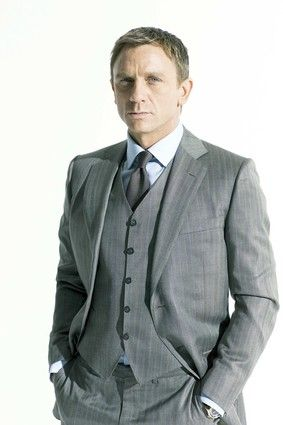 bespoke tom ford: Daniel Craig, Grooms Suits, Grey Suits, 3 Pieces Suits,  Suits Of Clothing, Men Suits, Gray Suits, Three Pieces Suits, Toms Ford Suits